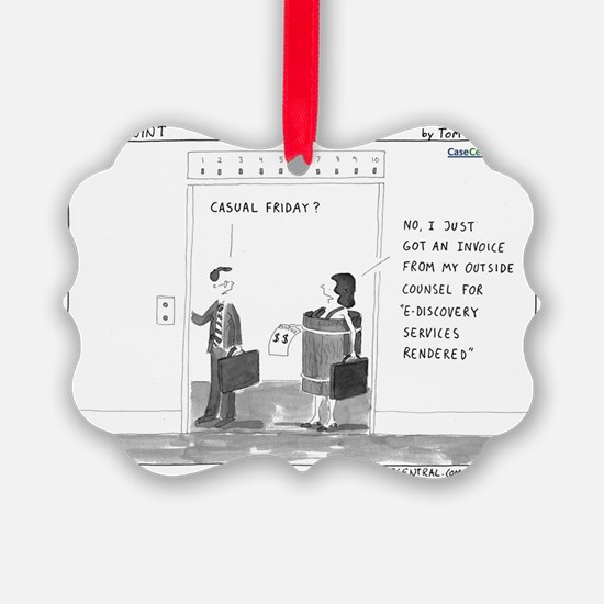 Casual Friday Ornament