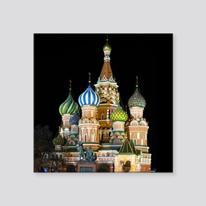 St. Basil Cathedral Moscow Sticker