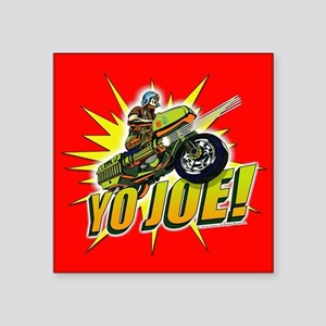 "G.I. Joe YO Joe Square Sticker 3"" x 3"""