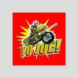 "G.I. Joe YO Joe Square Sticker 3"" x 3"""
