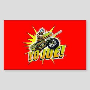 G.I. Joe YO Joe Sticker (Rectangle)