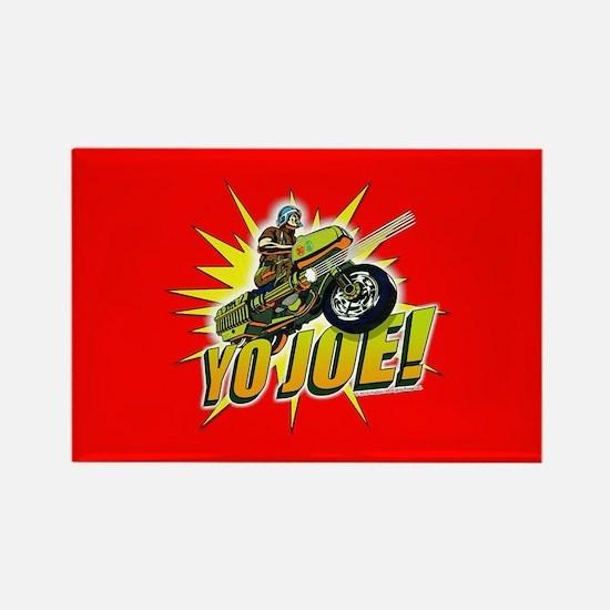 G.I. Joe YO Joe Rectangle Magnet