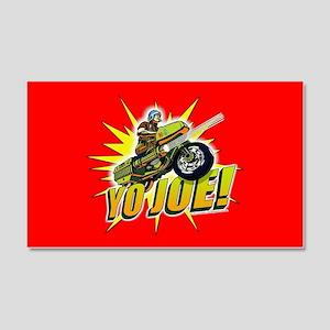 G.I. Joe YO Joe 20x12 Wall Decal