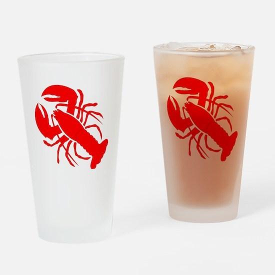 lobster Drinking Glass