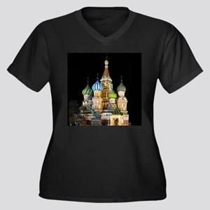 St. Basil Cathedral Moscow Plus Size T-Shirt