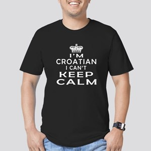 I Am Croatian I Can Not Keep Calm Men's Fitted T-S