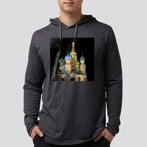 St. Basil Cathedral Moscow Long Sleeve T-Shirt