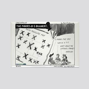 Pirates of eDiscovery Rectangle Magnet