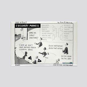 eDiscovery Madness Rectangle Magnet