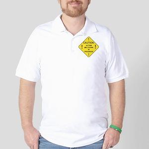 CAUTION Golf Shirt