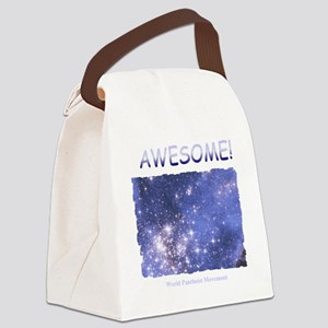 Awesome T-Shirt-Dark Canvas Lunch Bag