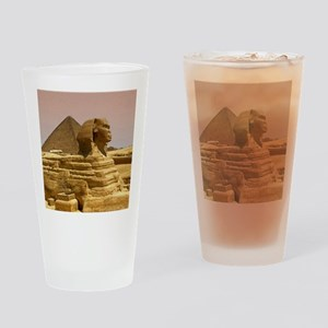 Sphinx Mousepad Drinking Glass