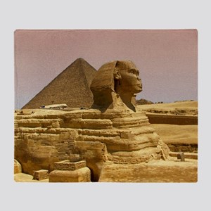 Sphinx Mousepad Throw Blanket