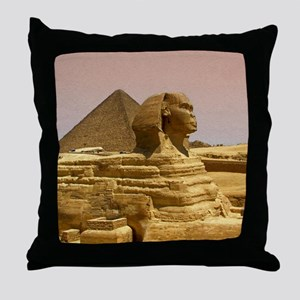 Sphinx Mousepad Throw Pillow