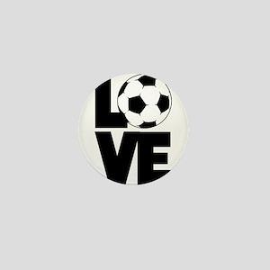 Soccer Love Mini Button