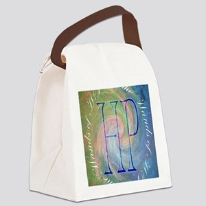 in the hands Canvas Lunch Bag