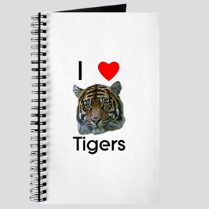I Love Tigers Journal