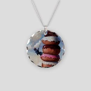 SweetBuddah Necklace Circle Charm