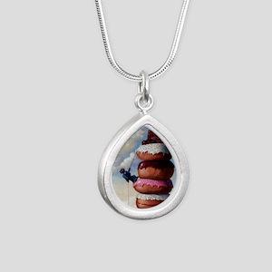 SweetBuddah Silver Teardrop Necklace