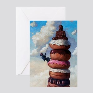 SweetBuddah Greeting Card