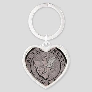 fbisacto Heart Keychain