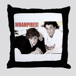 WHAMPIRES! Throw Pillow