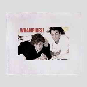 WHAMPIRES! Throw Blanket