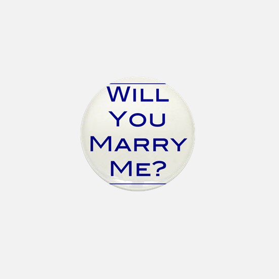 will-you-marry-me Mini Button