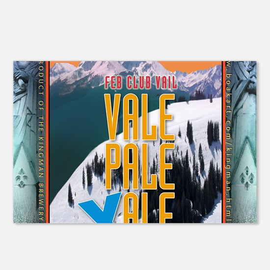 vail-yale Postcards (Package of 8)