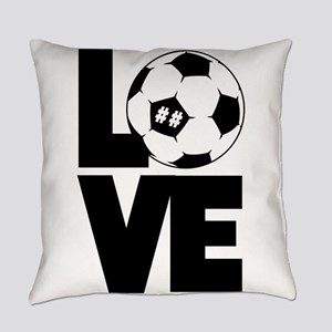 Soccer Love Everyday Pillow