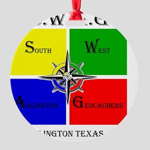SWAG3-1 Round Ornament