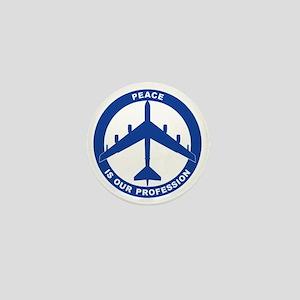 Peace Is Our Profession - B-52G Blue Mini Button
