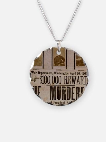 ART THE MURDERER crop Necklace