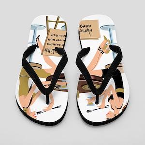 Saints Sushi Flip Flops
