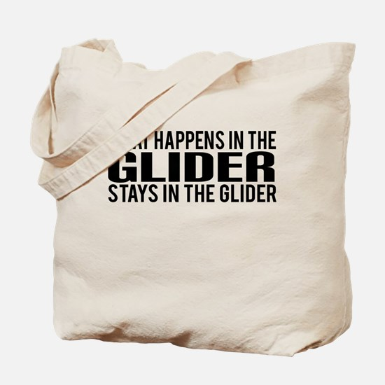 What Happens in the Glider Tote Bag