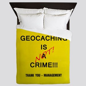 cache crime Queen Duvet