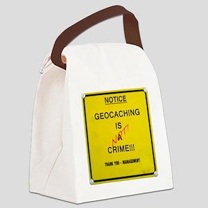 cache crime Canvas Lunch Bag