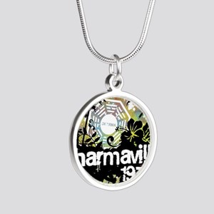 2-dharmaville Silver Round Necklace