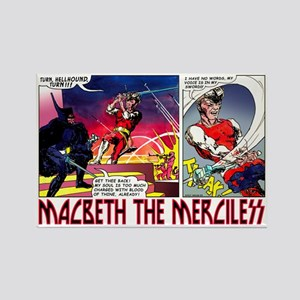 Macbeth_2 Rectangle Magnet