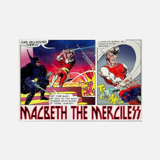 Macbeth_2 Rectangle Magnet
