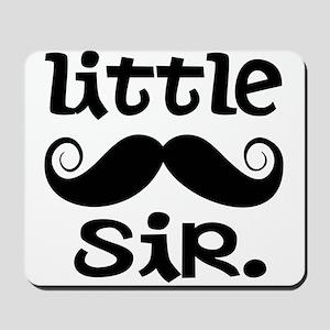Little Sir Mustache Mousepad