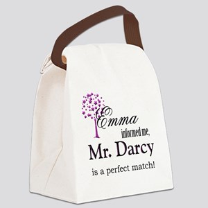 emma_mrdarcy Canvas Lunch Bag