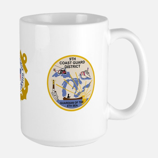 USCG-9th-CGD-Mug-Stackable Large Mug