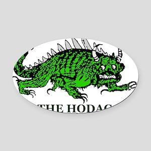 Hodag New Shirt Logo Oval Car Magnet