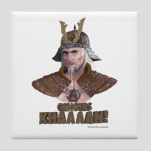 Genghis Khaaaan! Tile Coaster