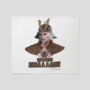Genghis Khaaaan! Throw Blanket