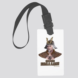 Genghis Khaaaan! Luggage Tag