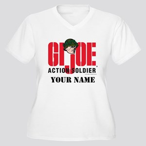 GI Joe Action Soldier Plus Size T-Shirt