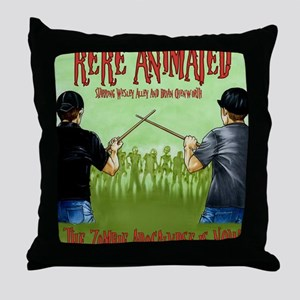 Undead Invasion w:names Throw Pillow