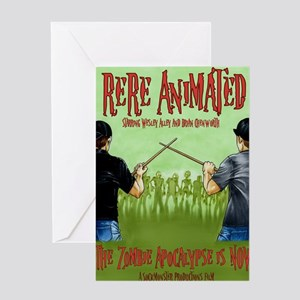 Undead Invasion w:names Greeting Card